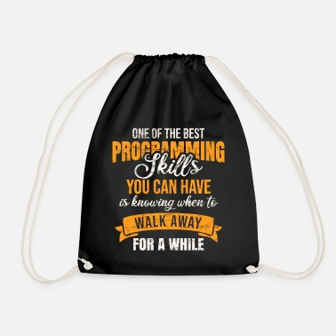 Coder Coder - Drawstring Bag