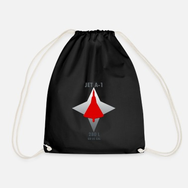Fighter Jet Fighter Jet - Drawstring Bag