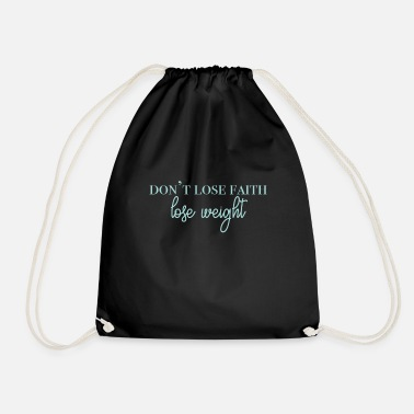 Collections dontlosefaith Collection - Gymbag