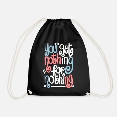 Typo Collection V2 Nothing 4 nothing - Drawstring Bag