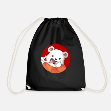 Bear Bepo Japan Flag - Sac à dos cordon