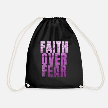 Belief Belief saying - Drawstring Bag