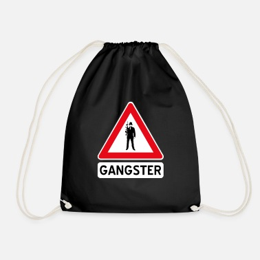 Gangster gangster - Drawstring Bag