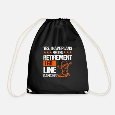 Countrymusic Line dance linedance western country music gift - Drawstring Bag