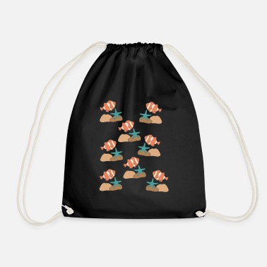 Under Water under water - Drawstring Bag
