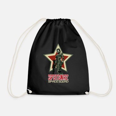 Cyborg Spetsnaz space squad - Drawstring Bag
