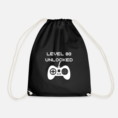 Unlocked Level 80 Unlocked - Drawstring Bag