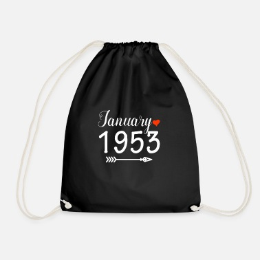 1953 January 1953 - Drawstring Bag