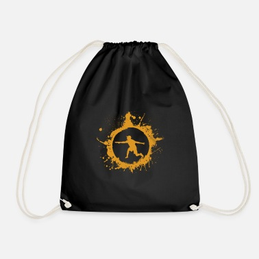 Player discgolf player player gift - Drawstring Bag