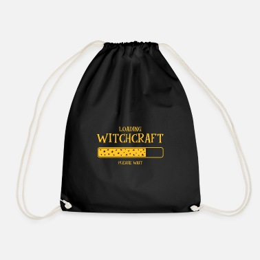 Witchcraft Sorcery witchcraft funny spell gift - Drawstring Bag