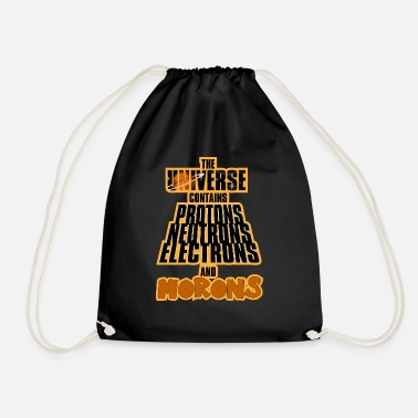 Moron morons - Drawstring Bag
