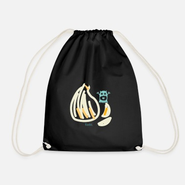 Garlic garlic - Drawstring Bag