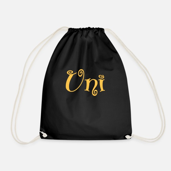 Uni Bags & Backpacks - Uni University Uni - Drawstring Bag black
