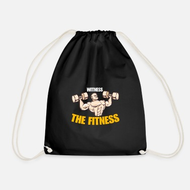 Wit WITNESS THE FITNESS - Drawstring Bag