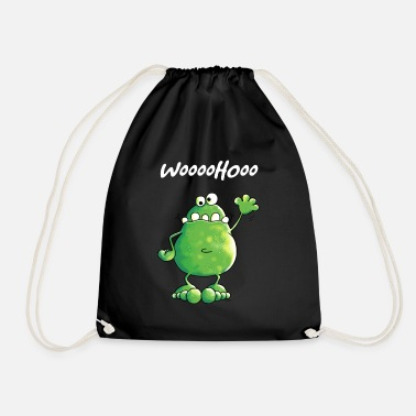 Frog Crazy Frog - Drawstring Bag