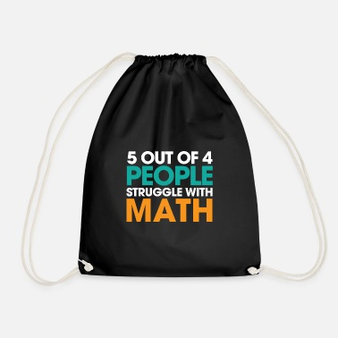 Geek Math Struggle Mathematician Geek Gift Idea - Gymnastikpåse