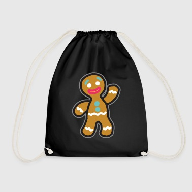Gingerbread man - Drawstring Bag