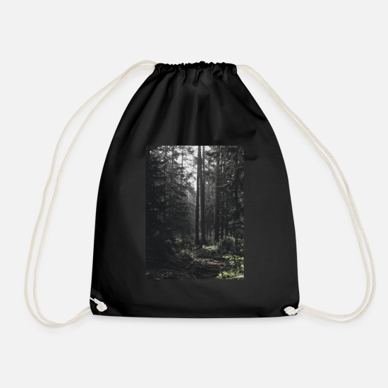 Forest Bags & Backpacks - Forest - Drawstring Bag black