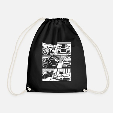 Skyline R34 - Drawstring Bag