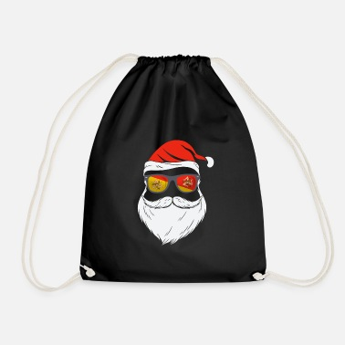 Marsala Sicily Flag Cool Santa Xmas Sunglasses - Drawstring Bag