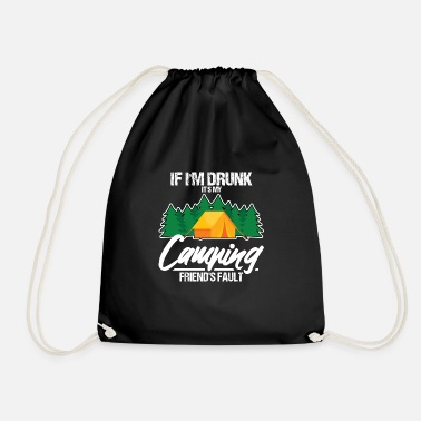 When Im Drunk When I'm drunk - Drawstring Bag