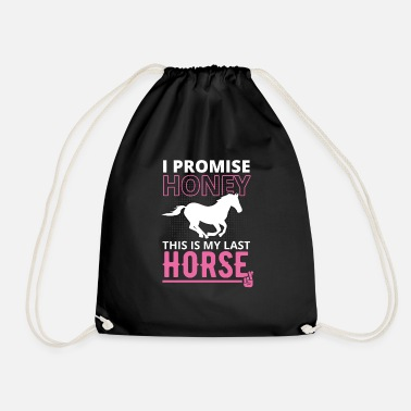 Horse Sayings Horse saying - Drawstring Bag