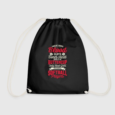 Softball - Drawstring Bag