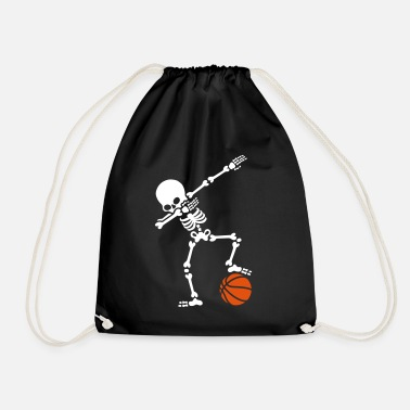 Baloncesto Dab dabbing skeleton football basketball - Mochila saco