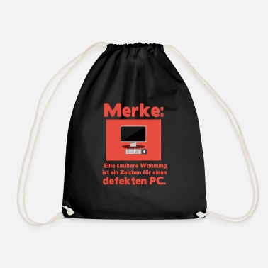 Pc PC - Drawstring Bag