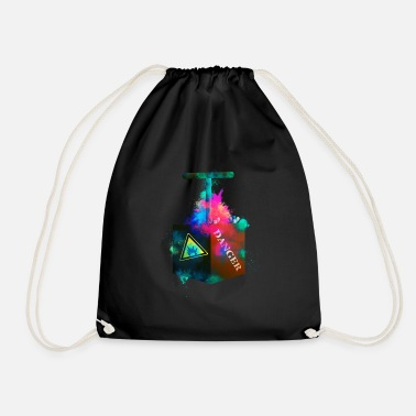 Bomb Shell Detonator bomb colorful - Drawstring Bag