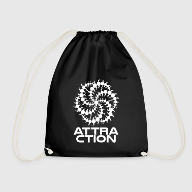 Attractive wite attraction - Drawstring Bag