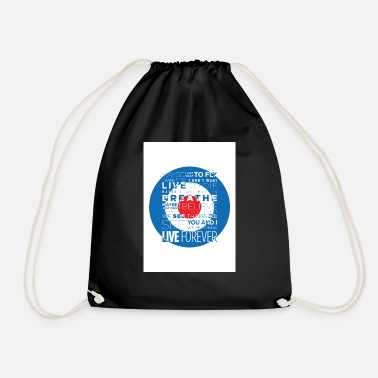 Liam Gallagher LIVE FOREVER - Drawstring Bag