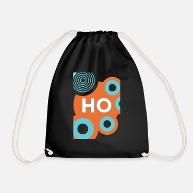 HO HO HO - Drawstring Bag