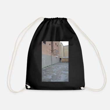 Court basketball court - Drawstring Bag