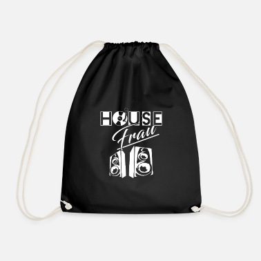 House House Woman House Music - Mochila saco