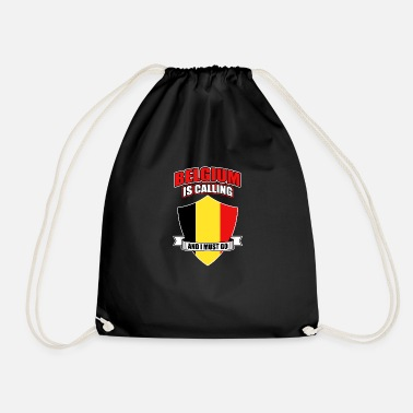 National Belgium Brussels Nation Origin Nationality - Drawstring Bag