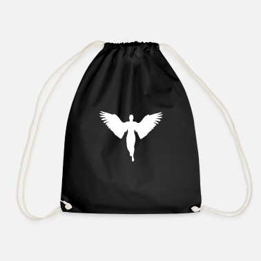Christmas Angel Angel Christmas - Drawstring Bag
