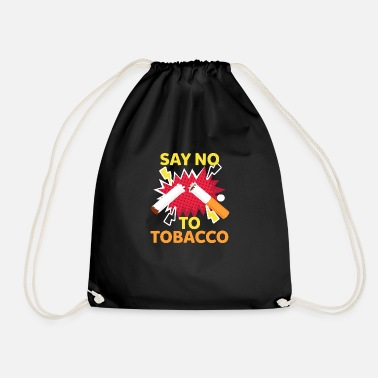 Smoking Non Smoking, No Smoking, No Smoking - Drawstring Bag