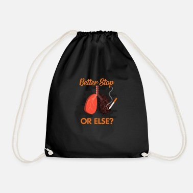 Smoking Stop Smoking, No Smoking, No Smoking - Drawstring Bag