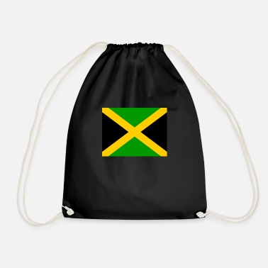 Jm Jamaica Flag of Jamaica (jm) - Drawstring Bag