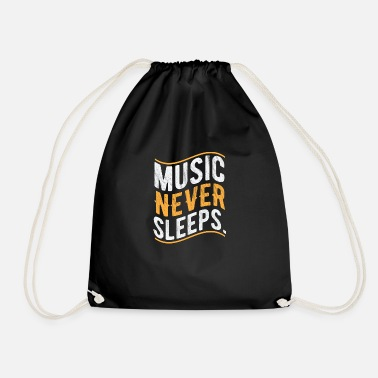 Musical Music Musical music symbol - Drawstring Bag