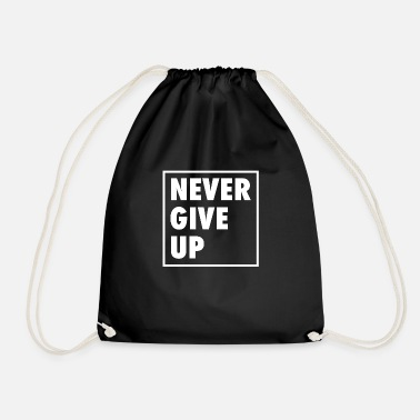 Portail Never Give Up - Sac à dos cordon