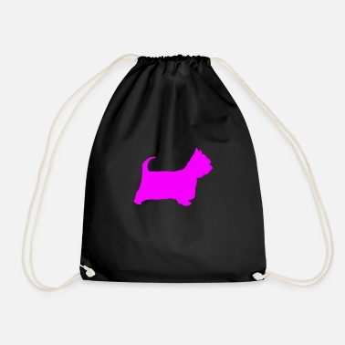 Doggie School doggy - Drawstring Bag