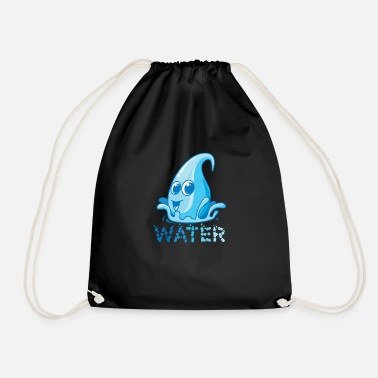 Geschenkiedee The most important asset of the earth, water - Drawstring Bag