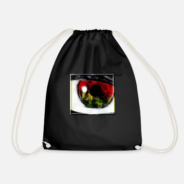 Eye for eye, tooth for tooth - Drawstring Bag