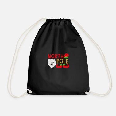 North Yorkshire North Pole - Drawstring Bag