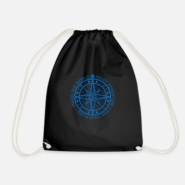 Travel Compass (Adventure, Travel) 01 - Drawstring Bag