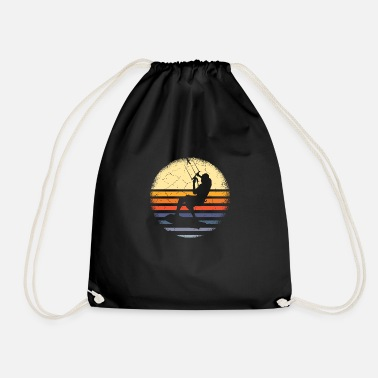 Kite Surfers Kite surfer - Drawstring Bag