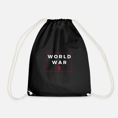 World War WORLD WAR 3 - Drawstring Bag