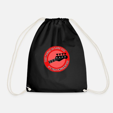 Sexy Bass Red Loud - Wes - Drawstring Bag